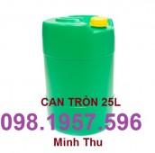 Can nhựa giá rẻ, can 30 lít, can 20 lít, can đựng hóa chất