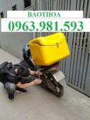Thùng chở hàng sau xe máy , thùng chở hàng đa năng, thùng chở hàng bảo quản đồ.