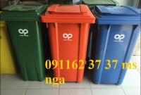thùng rác nhựa công cộng đà nẵng