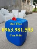 Can đựng hóa chất, can đựng dung môi hữu cơ, can đựng dung dịch lỏng, can nhựa.
