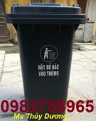 Thùng rác y tế nắp lật, thùng rác bập bênh, thùng đựng chất thải giá rẻ