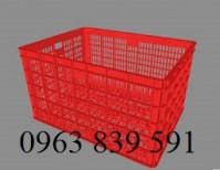 Sóng nhựa chữ nhật đựng trái cây giá cạnh tranh 0963839591