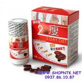 Viên Uống Giảm Cân 2 Day Diet Japan sản phẩm giảm cân từ Linh Chi của Nhật