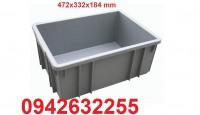 Hộp nhựa B1, kệ dụng cụ xếp tầng, kệ nhựa, khay đựng linh kiện, khay đựng ốc vít