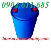 Bán thùng phuy nhựa nắp hở, thùng phuy nhựa 220 lít, phuy làm bè