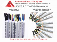 Cáp điều khiển hiệu Altek Kabel đủ quy cách, nhập khẩu chính hãng