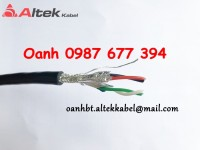 Cáp tín hiệu RS485 1 pair 24AWG, Cáp tín hiệu RS485 2 pair 24AWG - Screened Low