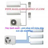 Bán và lắp Máy lạnh multi – 1 dàn nóng nhiều dàn lạnh