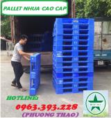 Pallet nhựa cao cấp, Pallet nhựa các loại giá tốt tại Hà Nội