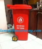 Bán thùng rác công cộng, thùng rác bập bênh, thùng rác nhựa Composite giá rẻ