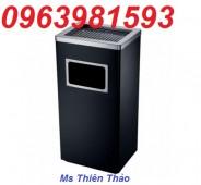 Cung cấp thùng rác Inox mới, thùng rác văn phòng, thùng rác Inox 30 lít giá rẻ