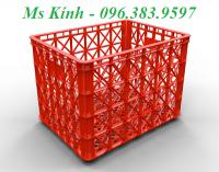 thùng nhựa chữ nhật dài 1 mét, rổ nhựa dùng trong ngành may dài 85 cm, sóng nhựa