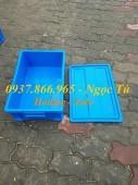 Hộp B4 đựng dụng cụ phụ tùng có nắp, hộp nhựa giá tốt nhất Hà Nội