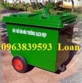Bán thùng rác công cộng loại lớn, thùng rác 100L-120L-240L-660L-1000l.