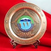 Xưởng đúc đĩa đồng làm quà tặng, quà biếu