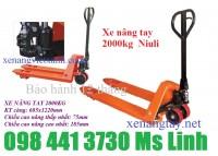 Xe nâng tay thấp 2 tấn JC20M Niuli