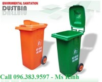 thùng rác công cộng 120l giá rẻ 490k