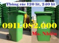 Thùng rác 660 lít giá bao nhiêu? thùng rác 120 lít, 240 lít giá rẻ