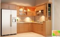 tủ bếp gỗ,giường,kệ sang trọng và hiện đại