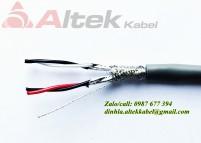 Có sẵn cáp tín hiệu vặn xoắn 2 Pair AWG- Cáp tín hiệu âm thanh giá tốt