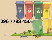 Cung cấp thùng rác nhựa hdpe 100l giá cạnh tranh.