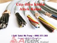 Cáp điều khiển hiệu Altek Kabel - nhập khẩu Đức