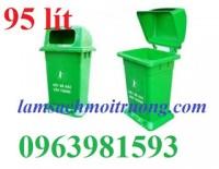 Cung cấp thùng rác nhựa HDPE, thùng rác công nghiệp, thùng rác công cộng giá rẻ.