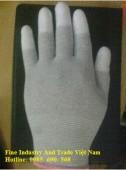 Găng tay chống tĩnh điện phủ PU Ngón