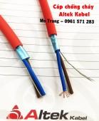 Nhà phân phối cáp tín hiệu vặn xoắn- cáp chống cháy nhập khẩu Altek Kabel