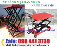 Xe nâng mặt bàn 500kg nâng cao 1m5 tw-lifter