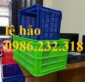 sọt nhựa hs014, sóng nhựa rỗng, thùng nhựa rỗng hs014, thùng nhựa giá rẻ