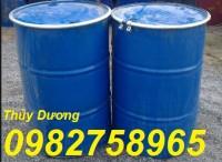 Thùng phuy sắt, thùng phuy nắp kín, thùng đựng hóa chất giá rẻ