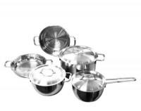 Bộ nồi Inox Five Star – bộ nồi 3 đáy giúp nấu thức ăn ngon không bị cháy, khê