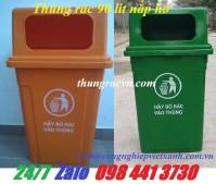 Thùng rác nhựa 60 lít 90 lít giá rẻ