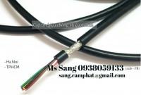 Cáp tín hiệu lưới đồng chống nhiễu 8 x 0.22mm