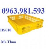 Cung cấp thùng nhựa rỗng hs010, sóng nhựa 2t HS010, sóng nhựa HS010, sóng nhựa