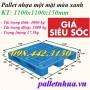 Pallet nhựa 1100x1100x150mm đan thanh giảm giá cực sốc call 0984423150 – Huyền