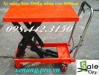 Xả hàng giá sốc xe nâng bàn 500kg, xe nâng chậu cây cảnh call 0984423150 – Huyền