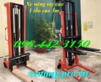 Xe nâng tay cao 1 tấn cao 3m giảm giá cực sốc call 0984423150 – Huyền