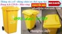 Thùng rác y tế 120 lít và 240 lít màu vàng giá siêu rẻ - giảm giá sốc