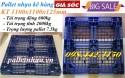 Giảm giá cựa sốc pallet nhựa 1100x1100x125mm call 0984423150 – Huyền