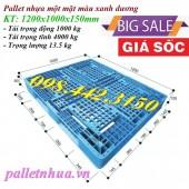 Giảm giá cực sốc pallet nhựa 1200x1000x150mm call 0984423150 – Huyền