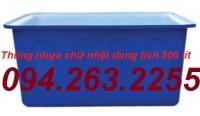 Bán thùng nhựa 250l, thùng nhựa 700l, thùng nhựa dung tích lớn giá rẻ