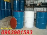 Cung cấp thùng phuy sắt 220l, thùng phuy sắt sử dụng tại công trường, thùng phuy