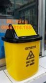 Thùng rác nắp lật 10 lít,thùng rác y tế 10 lít giá rẻ