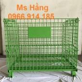 Pallet lưới thép dùng trong kho lạnh,pallet lưới thép sơn tĩnh điện