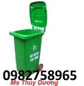 Thùng rác nhựa 60 lít đạp chân