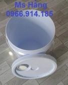 Thùng nhựa đựng nhớt 20 lít,vỏ thùng sơn 20 lít