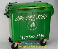 Xả hàng giá sốc thùng rác 660 lít nhựa hdpe call 0984423150 – Huyền