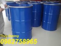 Thùng phuy sắt nắp kín, thùng đựng hóa chất, thùng phuy 220 lít giá rẻ